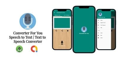 Converter For You - Speech to Text Android Templat