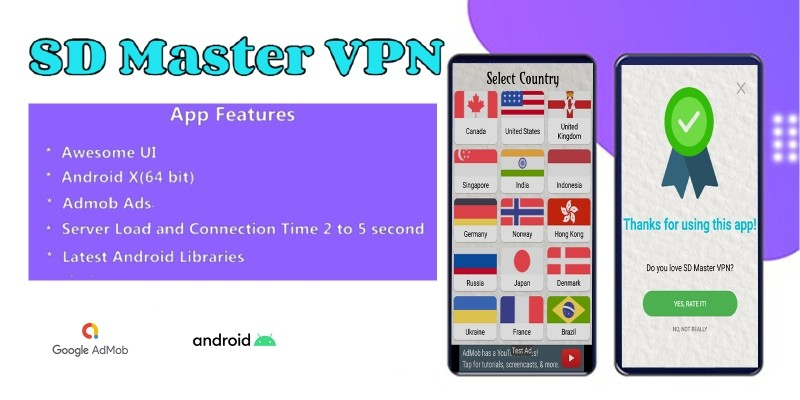 SD Master VPN Android Source Code