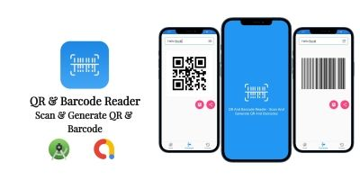 QR And Barcode Reader - Android App Source Code