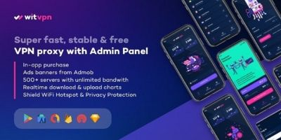 WitVPN - Android App Source Code