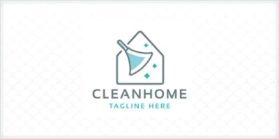 Professional Clean Home Logo