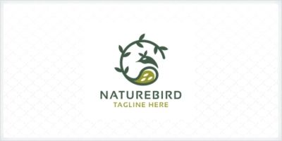 Nature Bird Logo