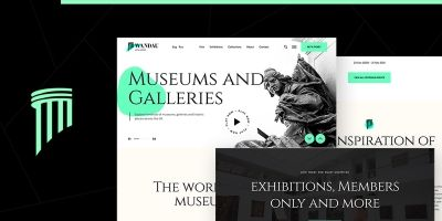 Wandau - Art And History Museum WordPress Theme