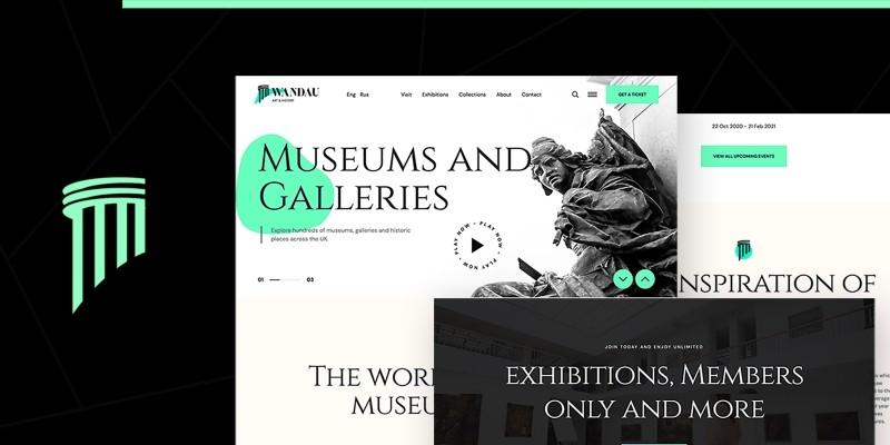 Wandau - Art And History Museum WordPress Theme
