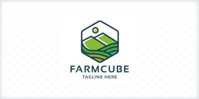 Farm Cube Logo