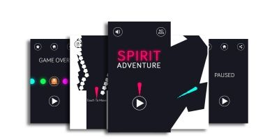 Spirit Adventure - Buildbox Template