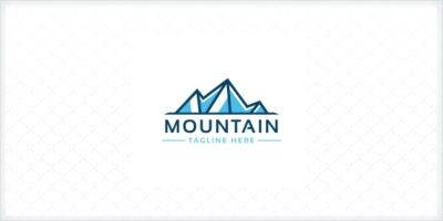 Professional Mountain Letter M Logo