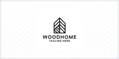 Wood Home Logo