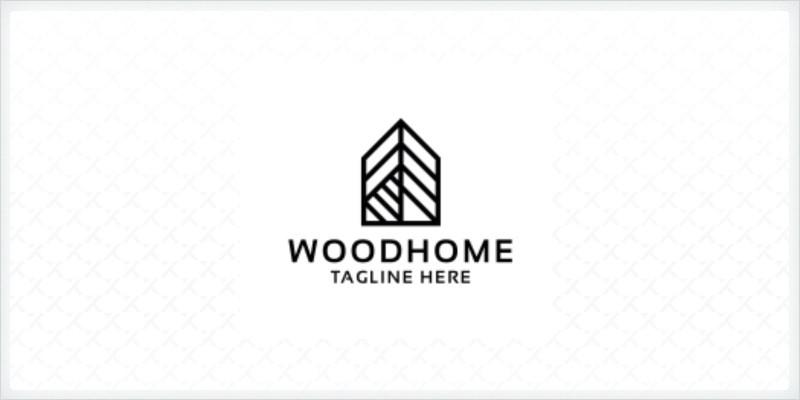 Wood Home Logo
