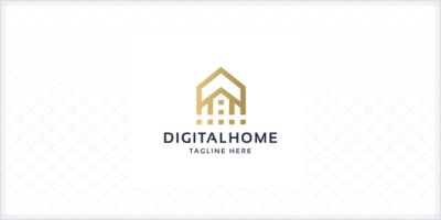 Professional Digital Home Logo