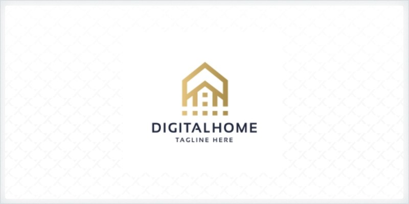 Professional Digital Home Logo
