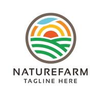 Professional Nature Farm Logo