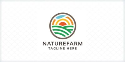 Professional Nature Farm Logo