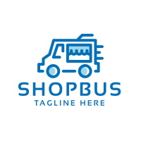 Professional Shop Bus Logo