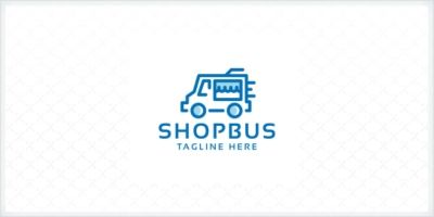 Professional Shop Bus Logo