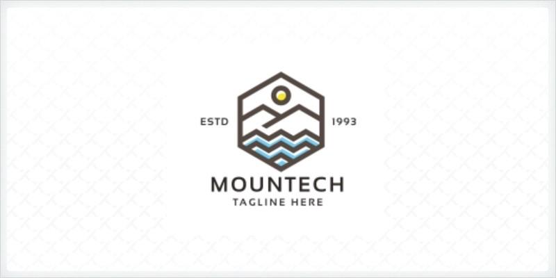 Professional Mountech Logo