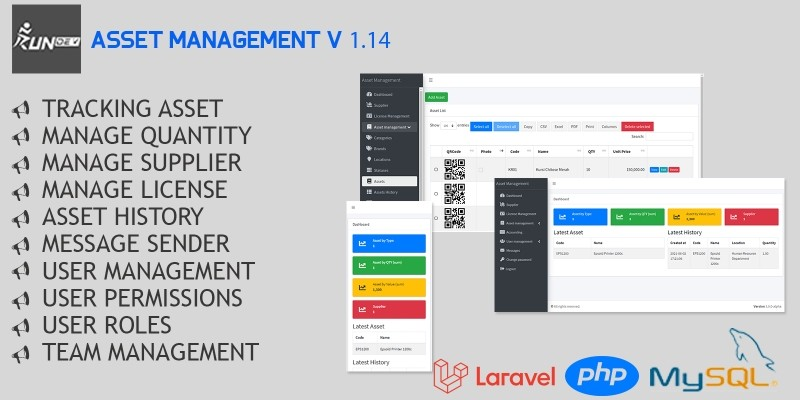 Asset Management Application