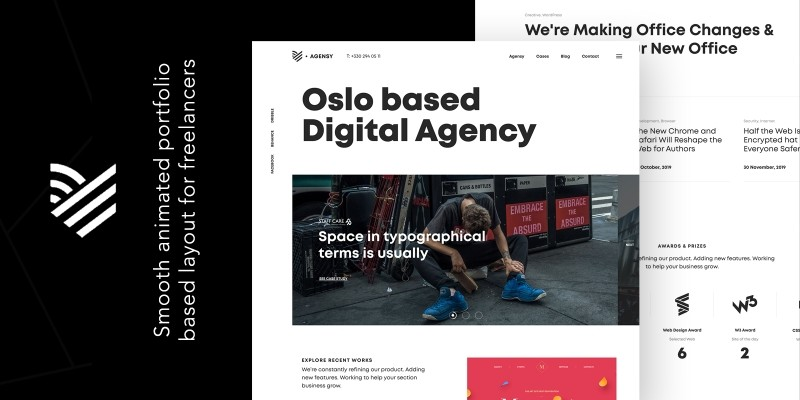 Agensy WordPress Theme