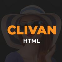 Clivan - Personal Portfolio Html Template