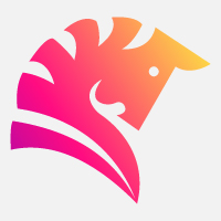 Horse Modern Logo