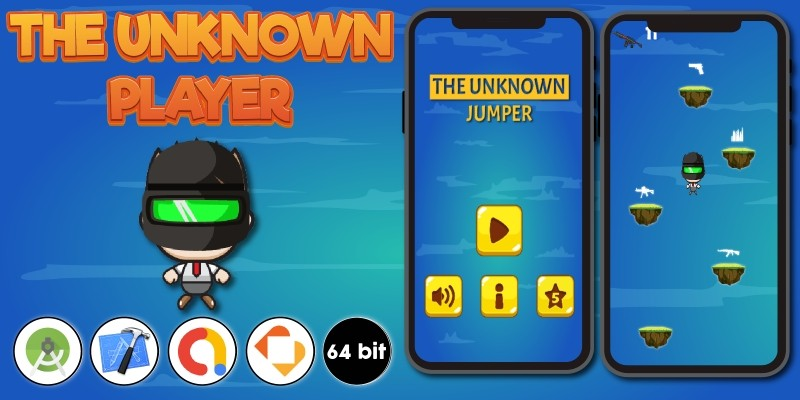 The Unknown Player - Buildbox Template