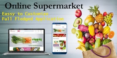Supermarket Online eCommerce Solution