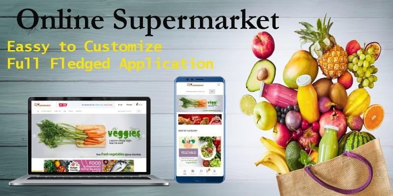 Supermarket Online eCommerce Solution
