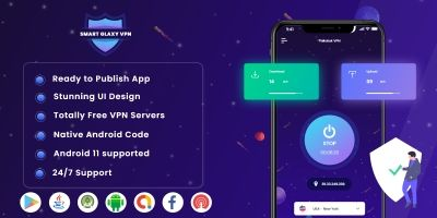 Smart Glaxy VPN Android Source Code