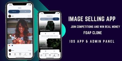 Image Competition iOS App With Admin Panel