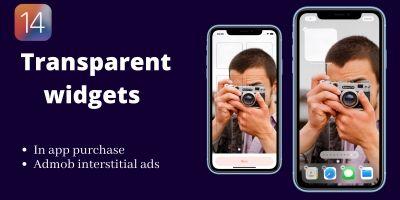 Transparent widget iOS14