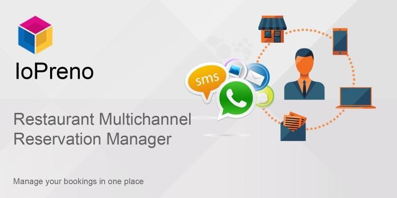 Restaurant Multi Channel Reservation Manager
