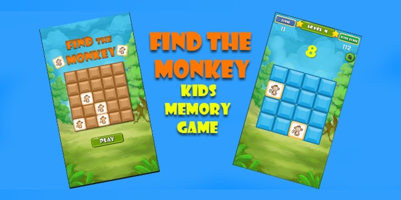 Find the Monkey - Kids Memory Game - Unity3d