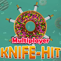 Knife Hit Online Multiplayer Game Unity Project