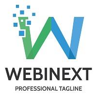 Letter W - Webinext Logo