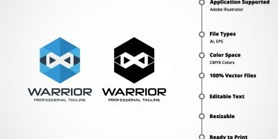 Warrior Cube Logo