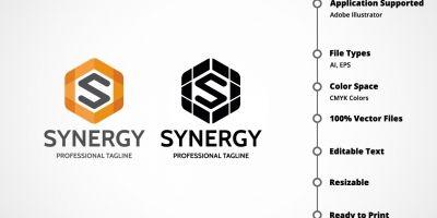 Letter S - Synergy Logo