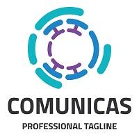 Letter C - Communication Network Logo