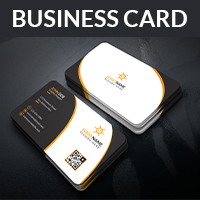 Corporate Business Card With PSD And Vector Form