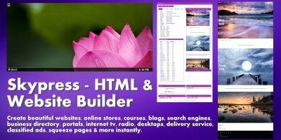 Skypress - HTML And Website Builder