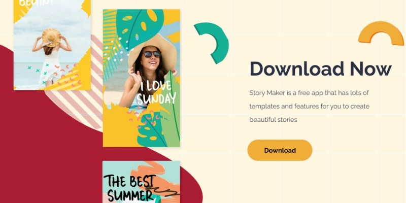 Story maker Android App Template