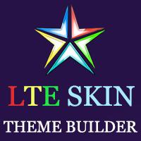 LTE Skin - AdminLTE3 Theme Builder