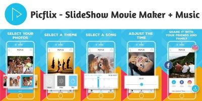 Picflix - SlideShow Movie Maker Xcode Project