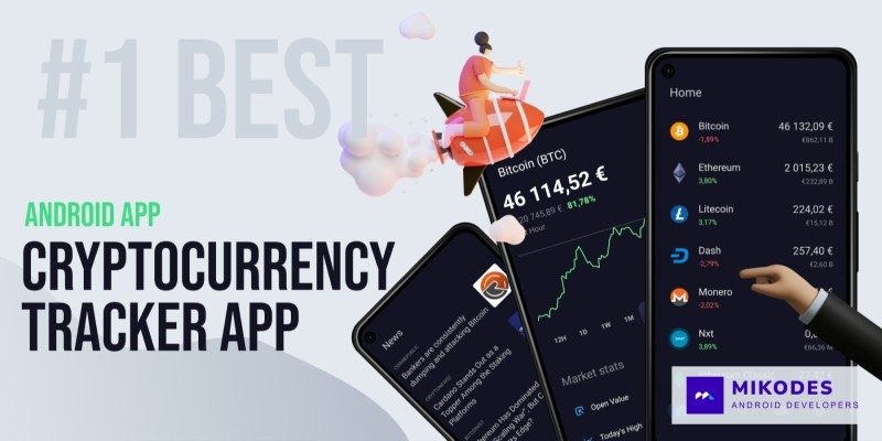 Cryptocrrency Tracker App Source Code