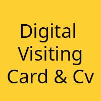 Digital Business Card - Personal Portfolio HTML