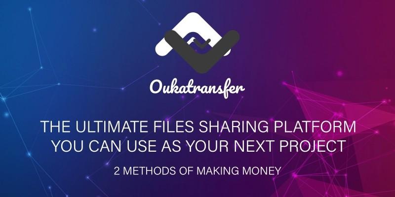 OukaTransfer - Files Sharing Platform
