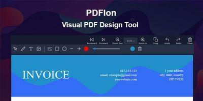 PDFlon - Visual PDF Design Tool