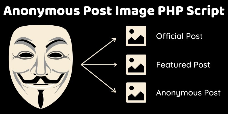 Anonymous Post Image PHP Script