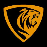 Lion Shield Creative Logo