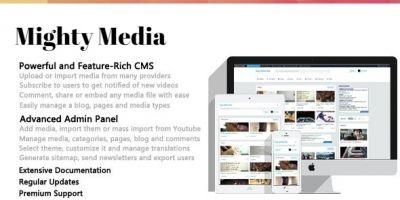 Mighty Media PHP Script