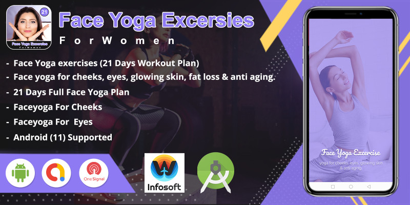 Android Face Yoga Excersies - 21 Days